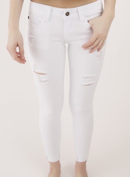 KanCan White Capri *Final Sale*