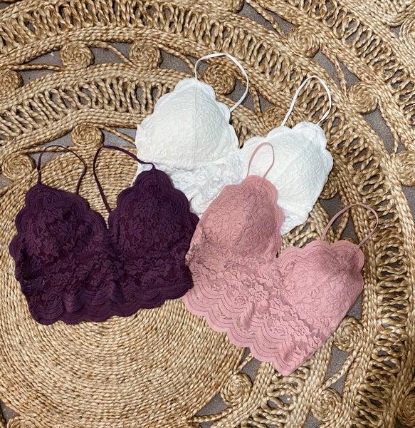 Lace Crop Bralette *Final Sale*