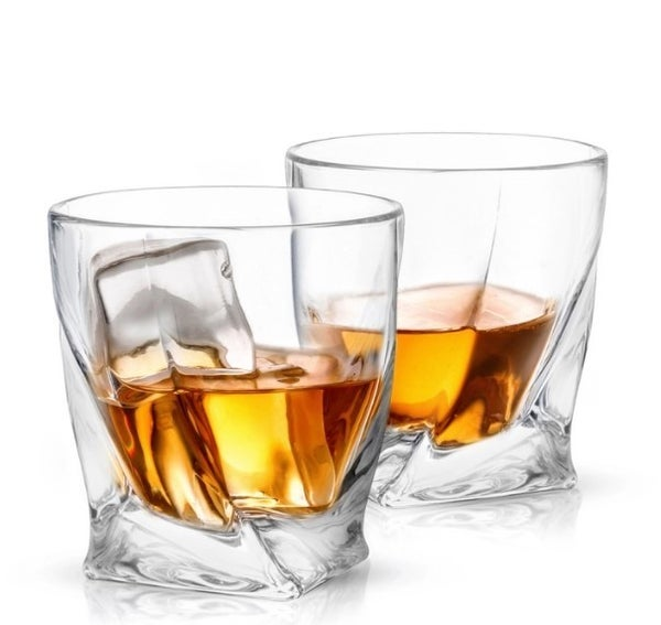 Atlas Crystal Whiskey Glasses