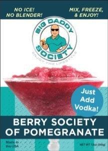 Berry Society Of Pomegranate Cocktail Slushie Mix