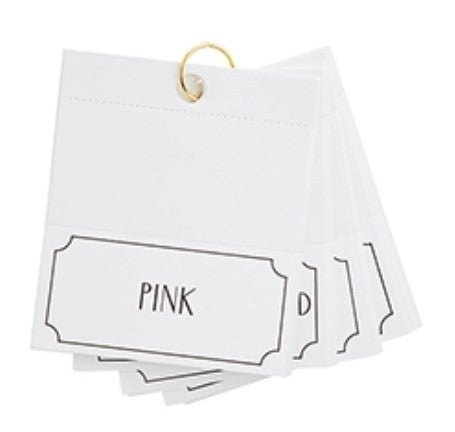 Female Rock Star Place Card