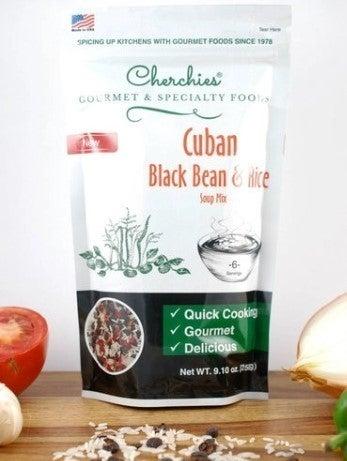 Cuban Black Bean & Rice Soup Mix