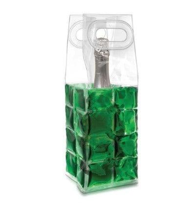 Green Wine Chill Gel Tote