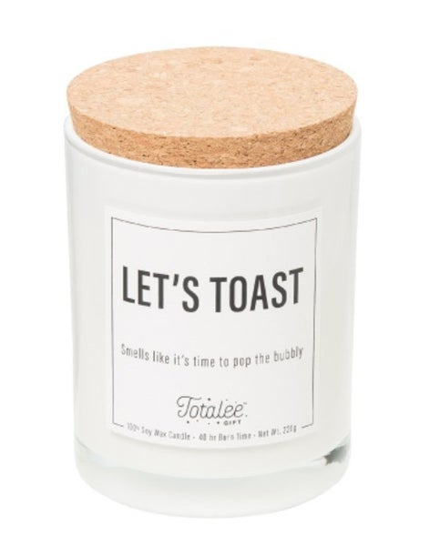 Lets Toast Soy Candle