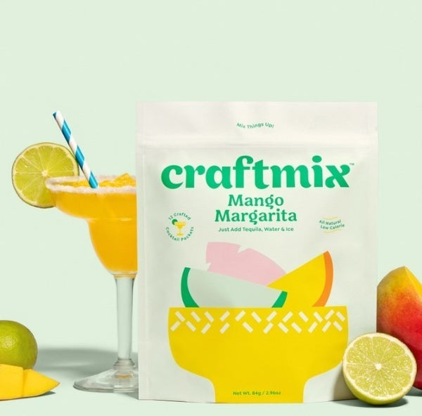 Mango Margarita Cocktail Mixer - 12 Pack by Craftmix