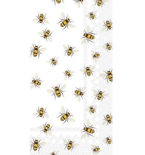 Save The Bees! Paper Guest Towel
