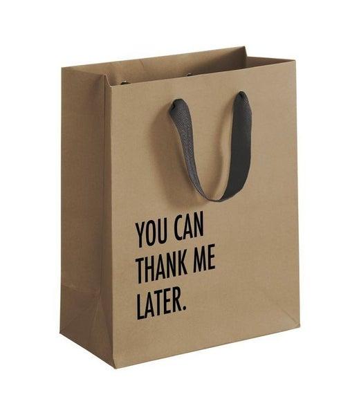 Thank Later Gift Bag
