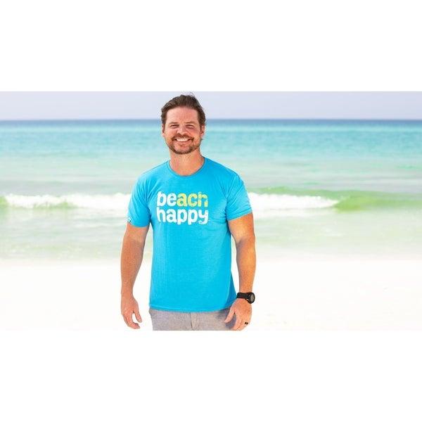 Beach Happy Unisex T Shirt