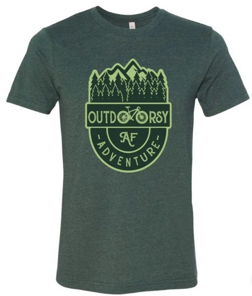 Outdoorsy AF T-Shirt