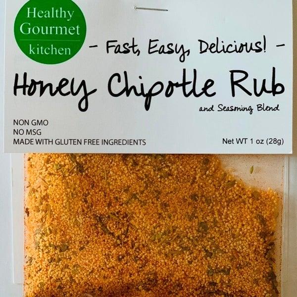 Honey Chipotle Rub