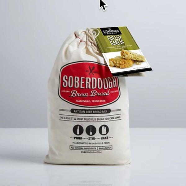 Soberdough Beer Bread - Cheesy Garlic