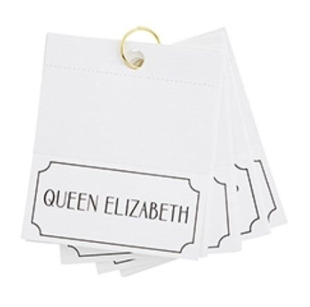 Royalty Place Cards