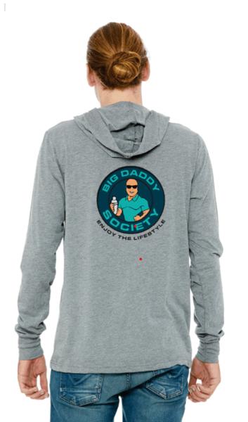 Big Daddy Society Full Color Logo Hooded Tshirt