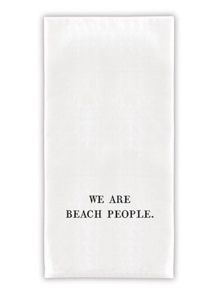 Face to Face Thirsty Boy Towels - We Are Beach People