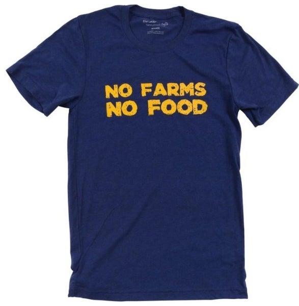 No Farms No Food Mens Tee