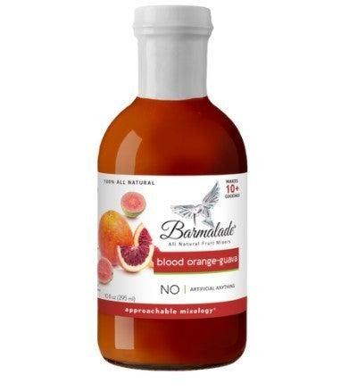 Blood Orange-Guava Barmalade - All Natural Fruit Mixer -10oz