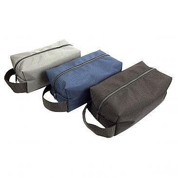 Men's / Women's Nylon Toiletry / Travel Bag / Dopp Kit Handmade in USA