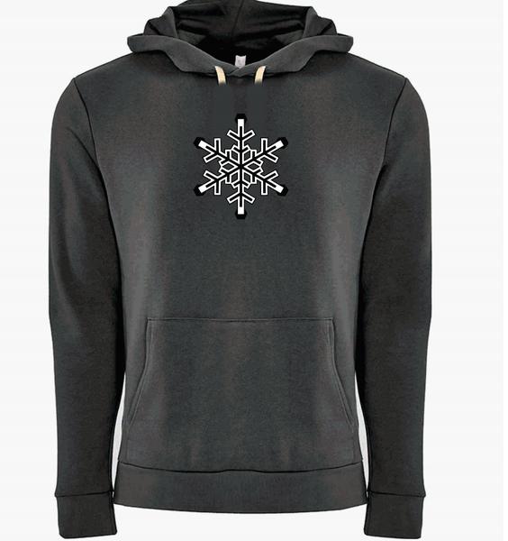 Snowflake Hoodie Heavy Metal