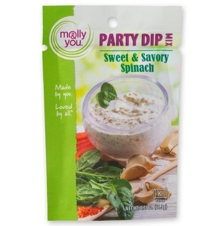 Creamy Spinach & Dill Dip Mix