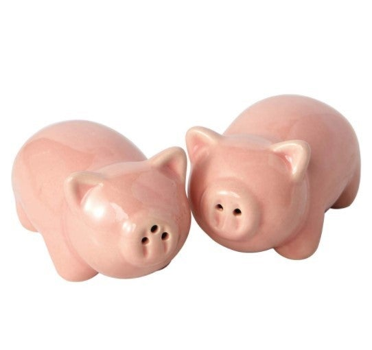 Pigs Ceramic Salt & Pepper Shakers