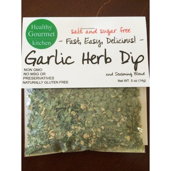 Garlic Herb Dip Mix