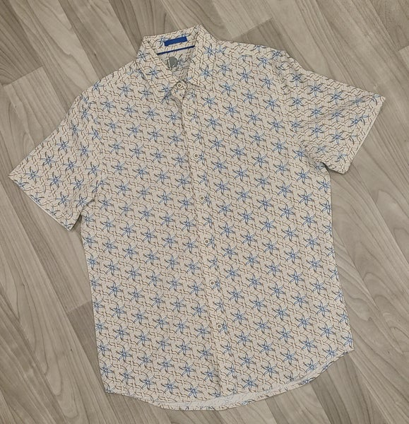 Nicoby S/S Crew-T-SS Woven shirt-Tan