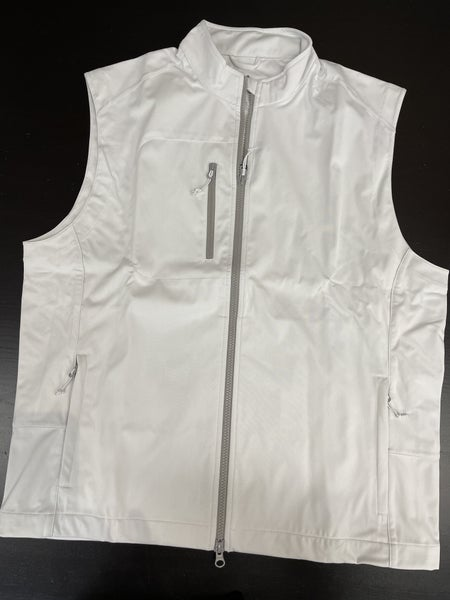 Johnnie-O Vest-White-1180