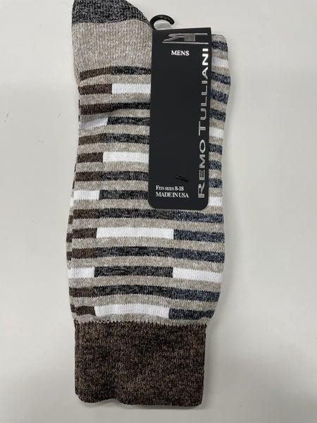 Remo Tulliani Socks-Seminole-Taupe