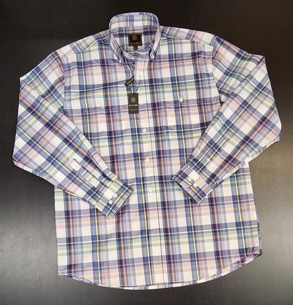 Plaid Woven Button Up Shirt