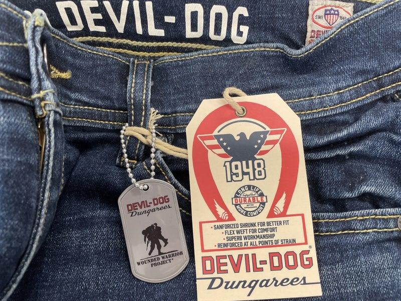 Dungarees- Devil Dog-Athletic