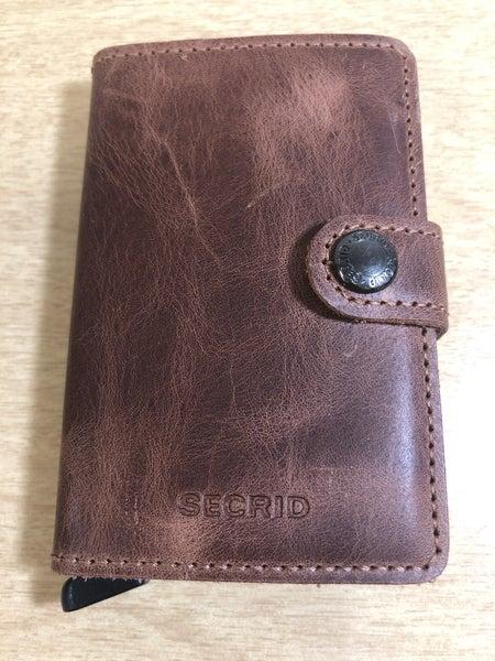 Secrid Miniwallet-Vintage Brown