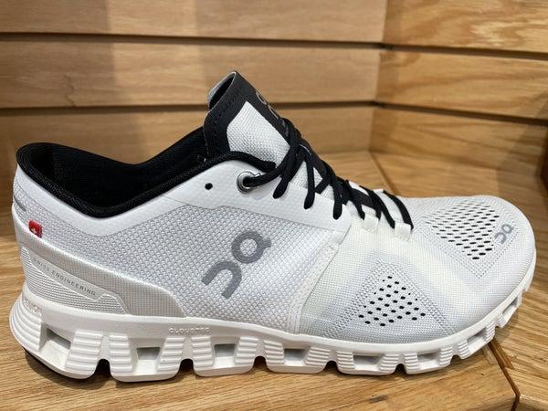 ON Mens Running Shoe-99707-White/Black