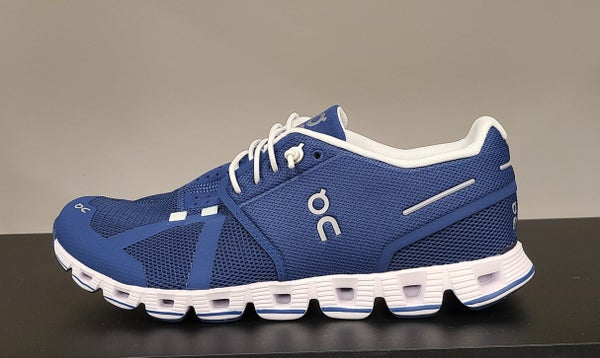 ON Womens Running Shoes Denim/White