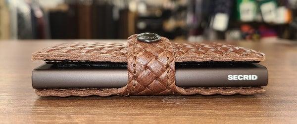Secrid Mini Wallet Basket Brown