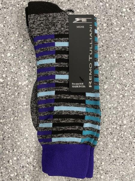 Remo Tulliani Socks-Seminole-Purple
