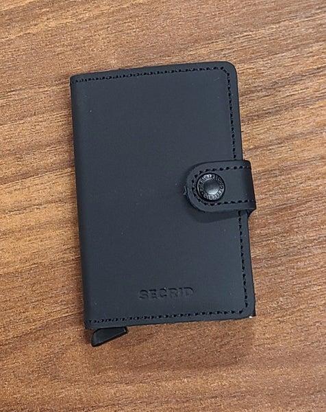 Secrid Mini Wallet - MATTE BLK
