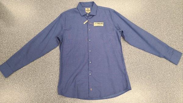 Tall Button Front Woven Long Sleeve Shirt