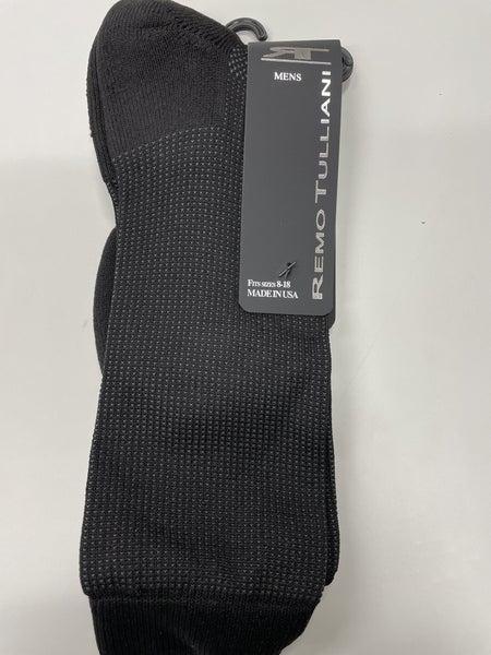Remo Tulliani Socks-Dakota-Black