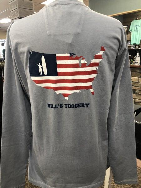 Bills Toggery Long Sleeve Tee - Grey