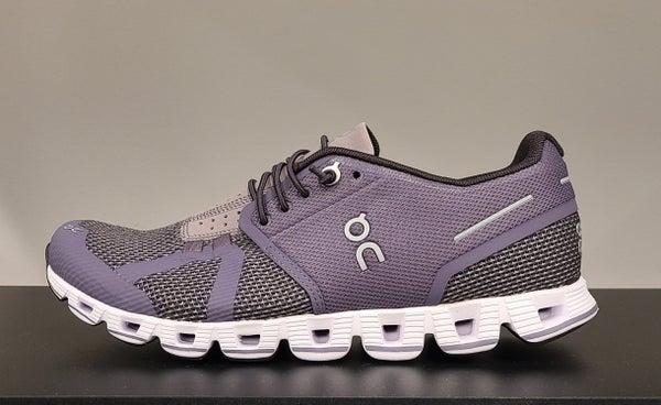 ON Womens Running Shoes Shark/Pebble