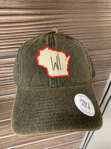 Wisconsin Truckers Cap - Black