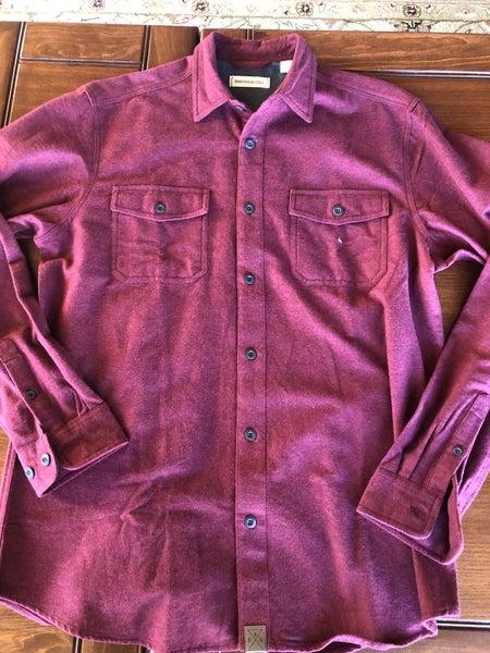 Chamois Shirt-WineBT