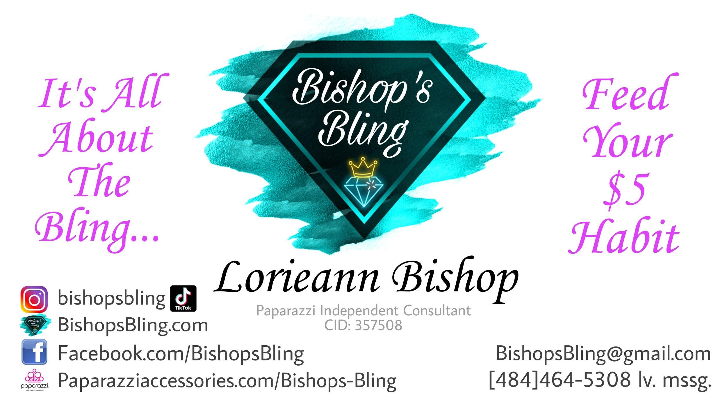 Bishop's Bling Banner