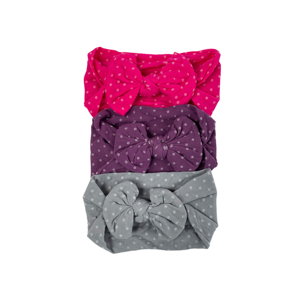 Valentine's Girly Polka Dot Headwrap Collection