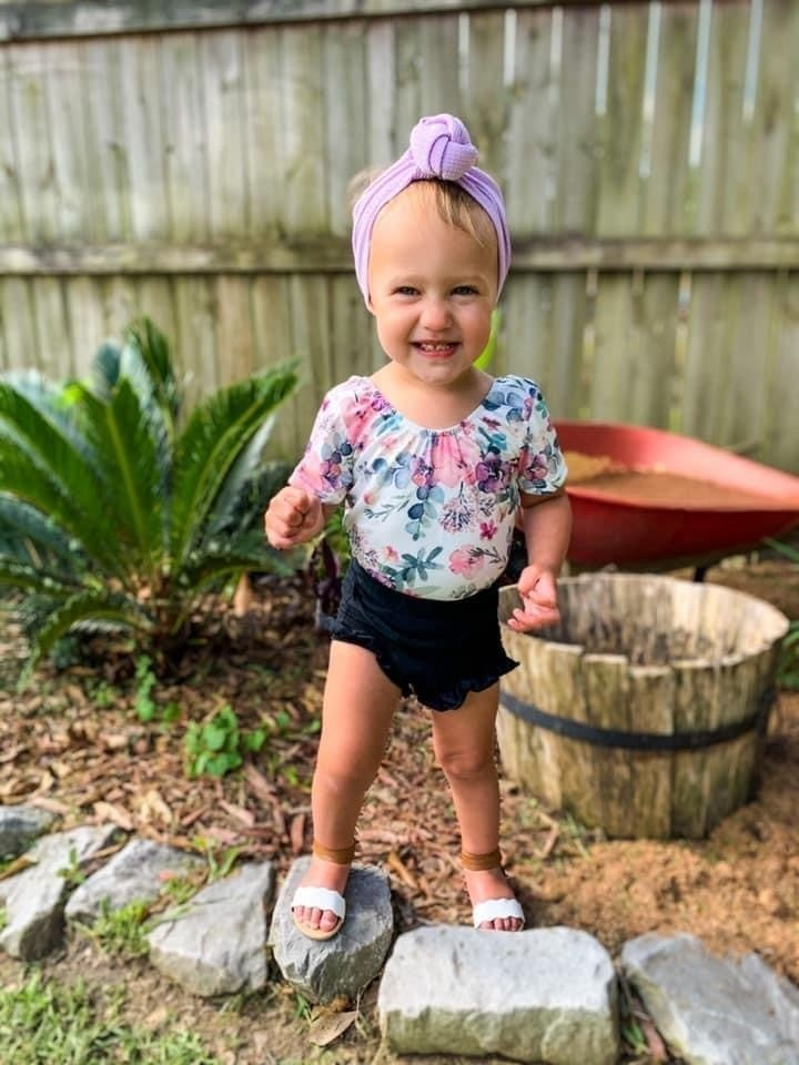 Mae Floral Leotard and Top
