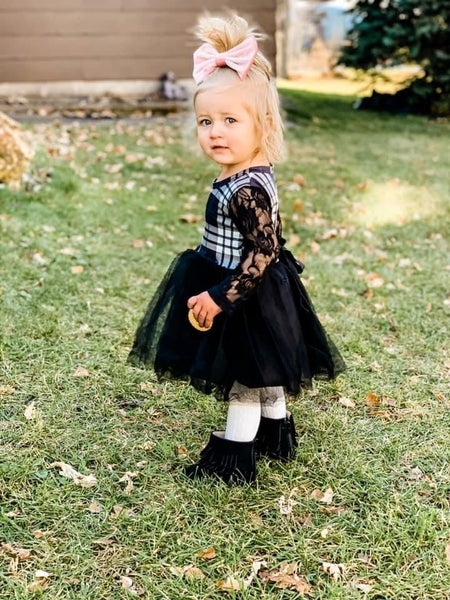 Midnight Maren Tulle  Dress