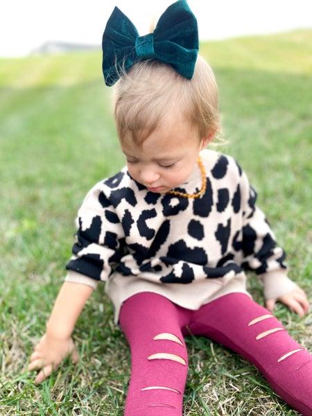 The Rachel || Cheetah Sweater