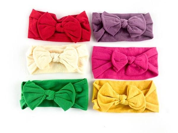 Butter Soft Bizzy Bows Set of 3