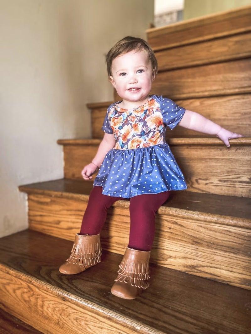 Girls  Bizzy Butter Leggings: Solid Staples