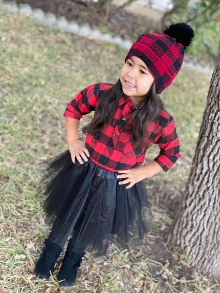 Buffalo Plaid | Mama + Me Beanies